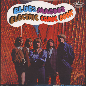 BLUES MAGOOS - Electric comic book - LP