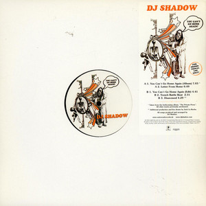 DJ SHADOW - You Can't Go Home Again - Maxi x 1