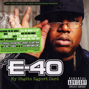 E-40 My+Ghetto+Report+Card CD