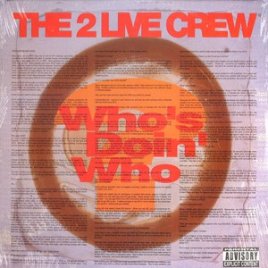 2 Live Crew Who's+Doin'+Who 12''