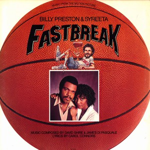 Billy Preston And Syreeta Ost Fast Break LP