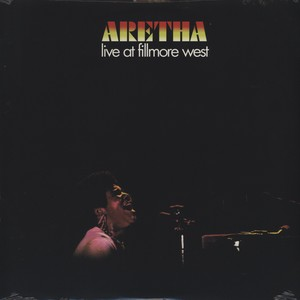 ARETHA FRANKLIN - Live at Fillmore West - LP