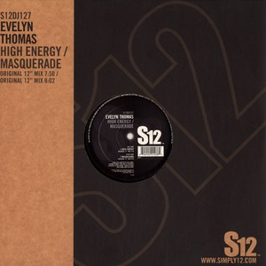 EVELYN THOMAS - High energy - 12 inch x 1