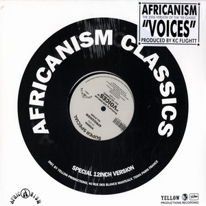 AFRICANISM ALL STARS - Voices Bob Sinclar 2005 remix - 12 inch x 1