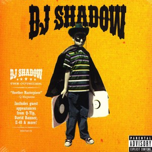 Dj Shadow The+Outsider CD