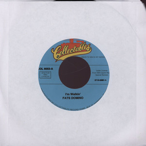 FATS DOMINO - I'm walkin' - 7inch x 1