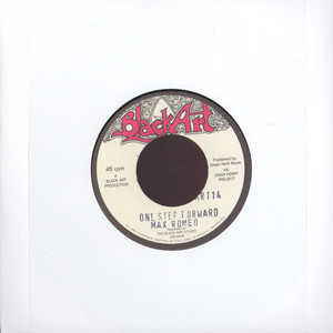 MAX ROMEO / THE UPSETTERS - One step forward / one step dub - 45T x 1