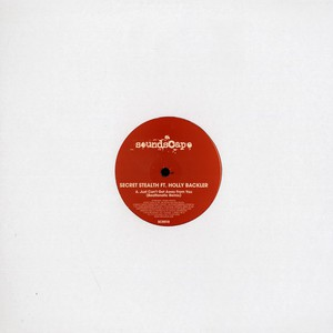 SECRET STEALTH - Just can't get away from you feat. Holly Backler Beatfanatic remix - 12 inch x 1