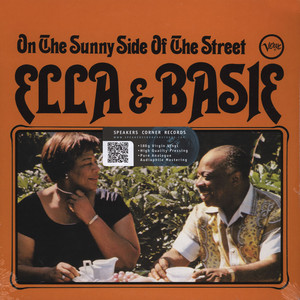 ELLA FITZGERALD & COUNT BASIE - On the sunny side of the street - 33T