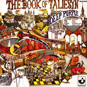 DEEP PURPLE - The book of Taliesyn - 33T