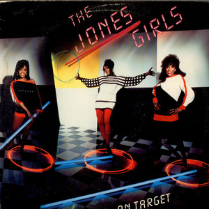 JONES GIRLS, THE - On target - LP