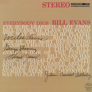 BILL EVANS - Everybody digs Bill Evans - 33T