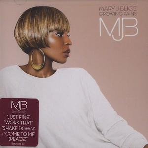 Mary J. Blige Growing+Pains CD
