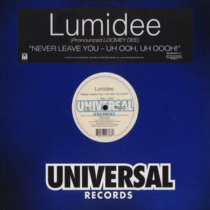 LUMIDEE - Never leave you - Maxi x 1