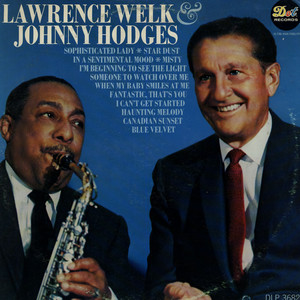 LAWRENCE WELK & JOHNNY HODGES - Lawrence Welk & Johnny Hodges - LP