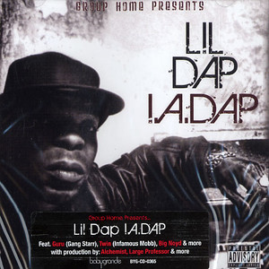 LIL DAP OF GROUP HOME - I.A. Dap - CD