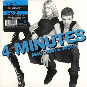 MADONNA - 4 minutes / Give it 2 me - 7inch x 2