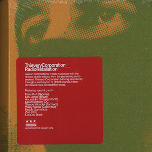 Thievery Corporation Radio+Retaliation CD