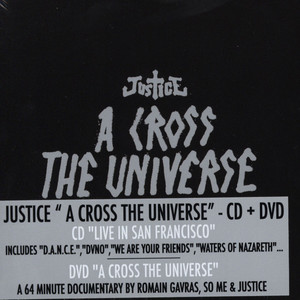 JUSTICE - A cross the universe - a documentary by Romain Gavras, So-Me & Justice - CD