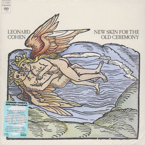 LEONARD COHEN - New Skin For The Old Ceremony - 33T