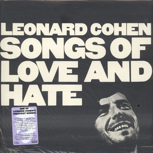 LEONARD COHEN - Songs Of  Love & Hate - 33T