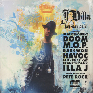 J DILLA AKA JAY DEE - Jay Stay Paid - CD