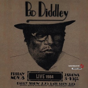 BO DIDDLEY - Live 1984 - LP