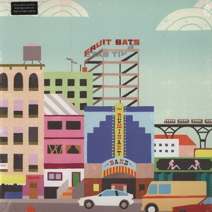Fruit Bats The+Ruminant+Band LP