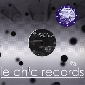 KOOL G. 1 & LES DIAMANTAIRES - One Night In N.Y.C. - 12 inch x 1