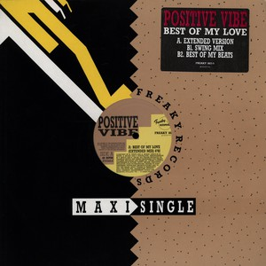 POSITIVE VIBE - Best Of My Love - Maxi x 1