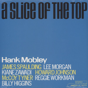 HANK MOBLEY - A Slice Of The Top - LP