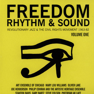 GILLES PETERSON AND STUART BAKER - Freedom, Rhythm and Sound - Revolutionary Jazz 1965-83 - LP 1 - LP x 2