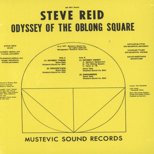 STEVE REID AND THE MASTER BROTHERHOOD - Odyssey Of The Oblong Square - CD