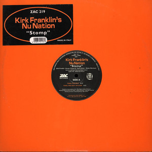 KIRK FRANKLIN' NU NATION - Stomp feat. Sheryl Salt James - Maxi x 1