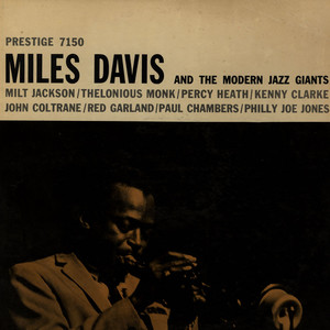MILES DAVIS - Miles Davis And The Modern Jazz Giants - 33T