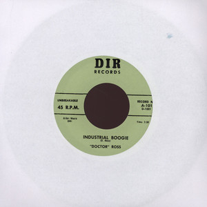 DOCTOR ROSS - Industrial Boogie - 7inch x 1