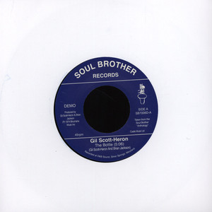 GIL SCOTT-HERON & BRIAN JACKSON - The Bottle - 7inch x 1