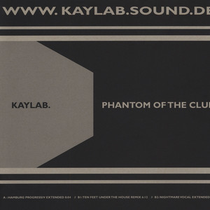 KAYLAB. - Phantom Of The Club - Maxi x 1