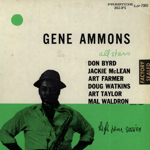 GENE AMMONS ALL STARS - Jammin'With Gene - 33T