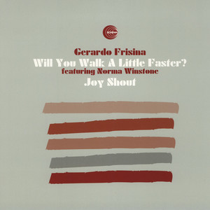 GERARDO FRISINA - Will You Walk A Little Faster? - 12 inch x 1