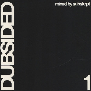 V.A. - Dubsided 1 - mixed by Subskrpt - CD