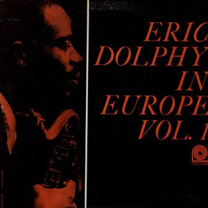 ERIC DOLPHY - Eric Dolphy In Europe Vol.1 - 33T
