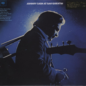 JOHNNY CASH - At San Quentin - 33T