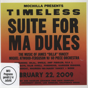 J DILLA AKA JAY DEE - Mochilla Presents Timeless: Suite For Ma Dukes - CD