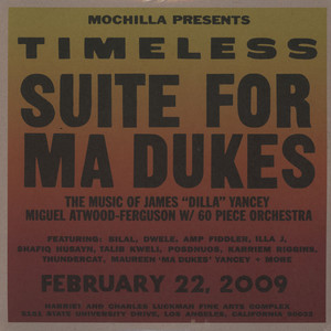 J DILLA AKA JAY DEE - Mochilla Presents Timeless: Suite For Ma Dukes - LP x 2
