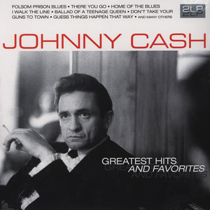 JOHNNY CASH - Greatest Hits & Favorites - 33T x 2