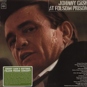 JOHNNY CASH - At Folsom Prison - 33T