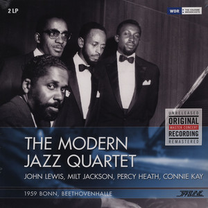 MODERN JAZZ QUARTET, THE - 1959 Bonn - Beethovenhalle - LP x 2