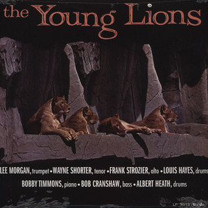 LEE MORGAN & WAYNE SHORTER - Young Lions - 33T