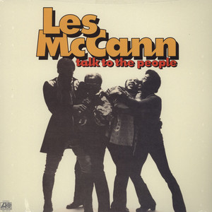 LES MCCANN - Talk To The People - LP